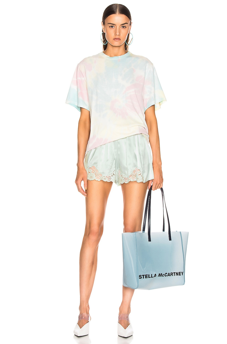 Image 4 of Stella McCartney High Wasited Short in Light Mint