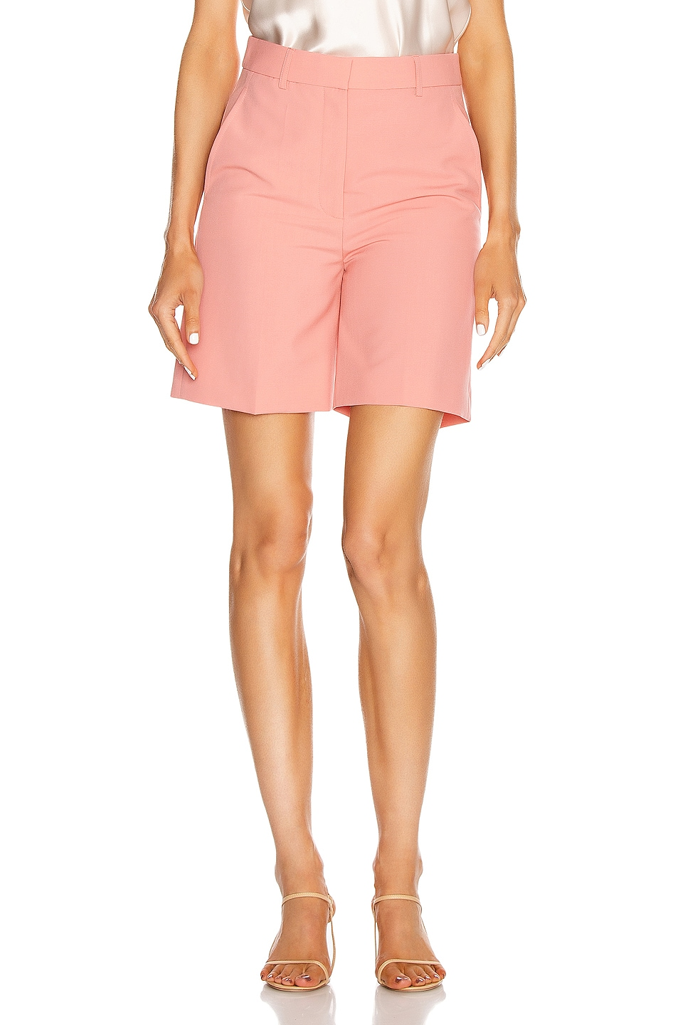 Image 1 of Stella McCartney Amber Tuxedo Short in Bellini
