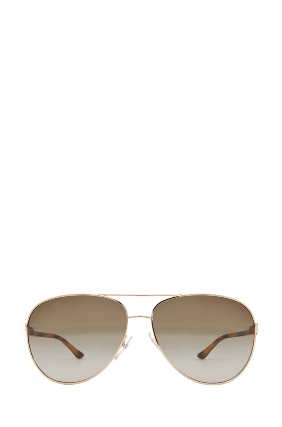 Image 1 of Stella McCartney Aviator Sunglasses in Gold & Blonde