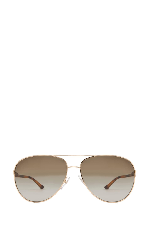 Image 1 of Stella McCartneyAviator Sunglasses in Gold & Blonde
