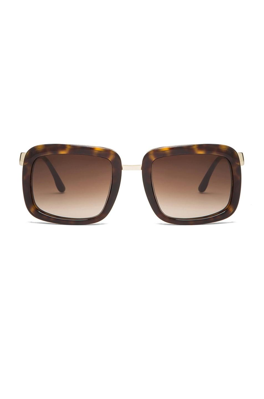 Image 1 of Stella McCartney Sunglasses in Dark Tortoise