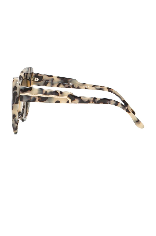 Image 3 of Stella McCartney Mirror Oversized Cateye in Grey Spotty Tortoise