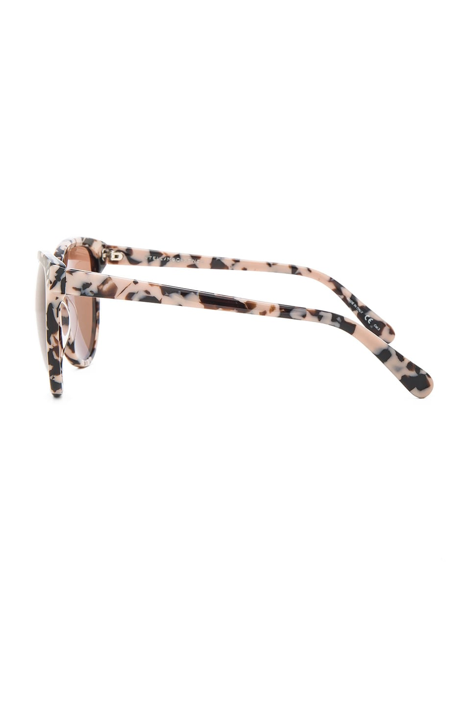 Image 3 of Stella McCartney Cat Eye Sunglasses in Pink Havana