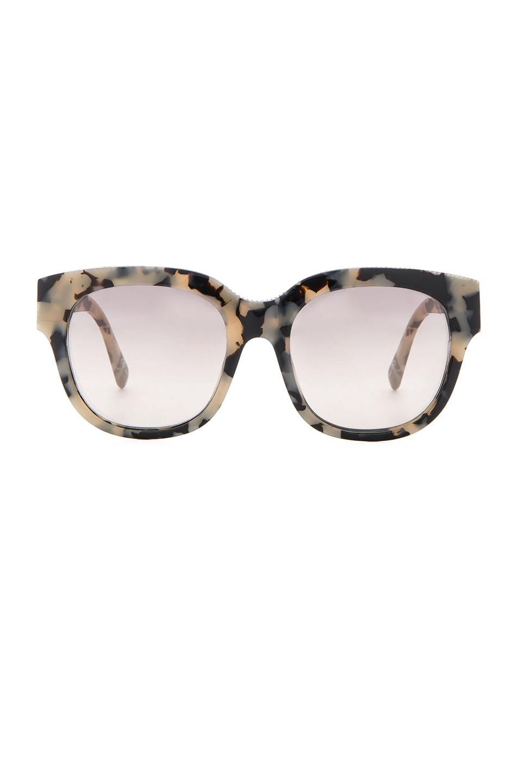 Image 1 of Stella McCartneySquare Sunglasses in White Havana