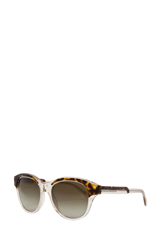 Image 2 of Stella McCartney Sunglasses in Havana & Transparent Yellow