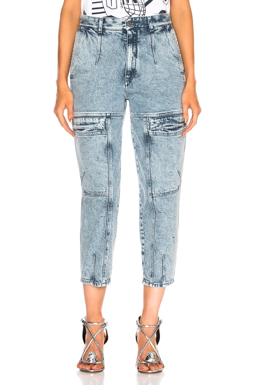 Image 1 of Stella McCartney Leanna Jeans in Acid Blue