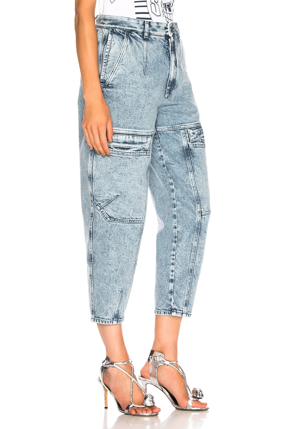 Image 2 of Stella McCartney Leanna Jeans in Acid Blue