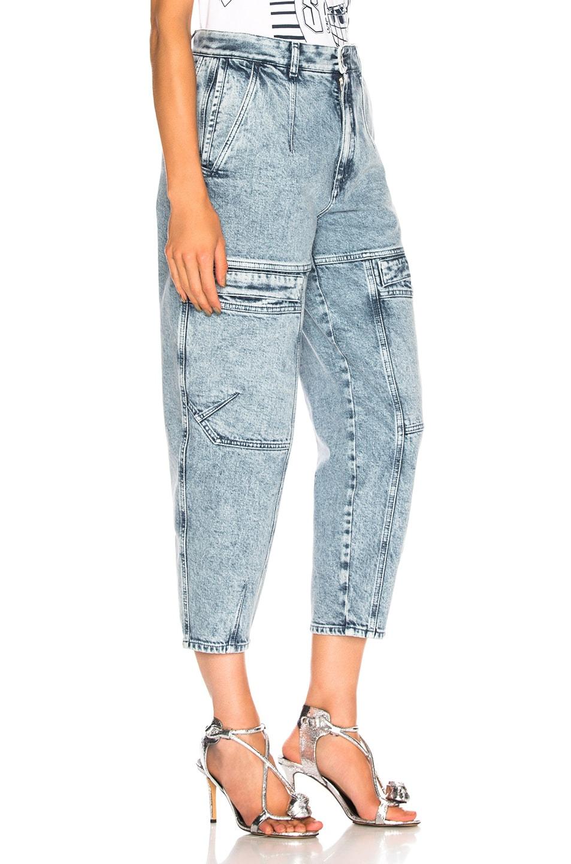 Image 2 of Stella McCartney Leanna Jeans in Acid Blue