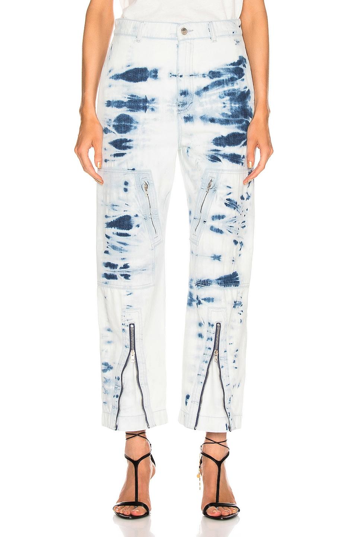 Image 1 of Stella McCartney Tie Dye Jean in Light Blue