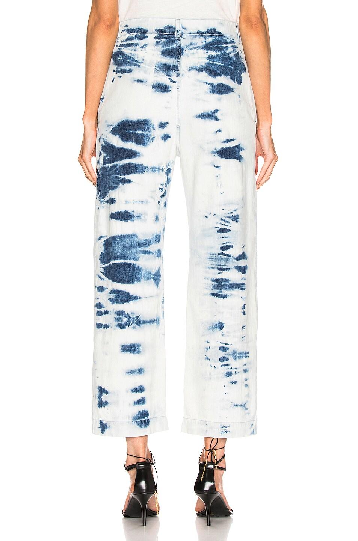 Image 3 of Stella McCartney Tie Dye Jean in Light Blue
