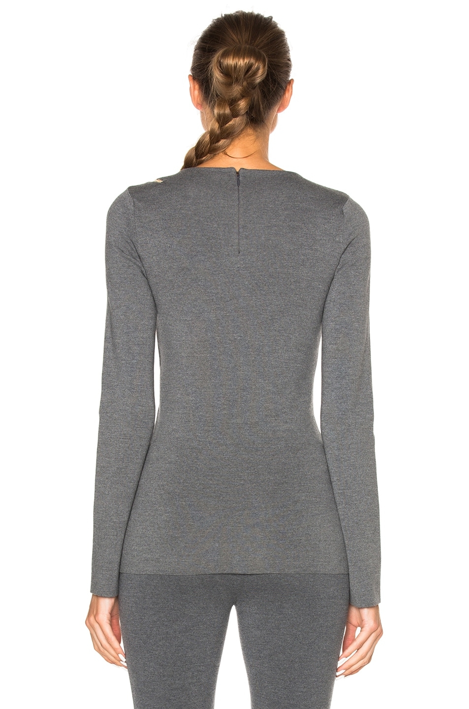 Image 4 of Stella McCartney Strong Lines Sweater in Granite