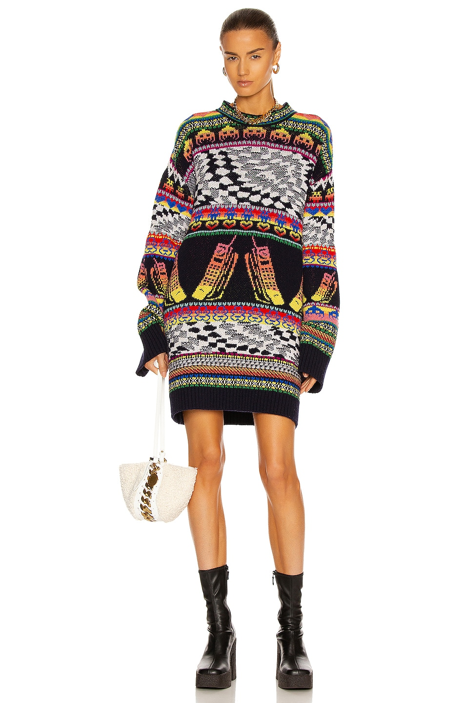 Image 1 of Stella McCartney Keep In Touch Sweater in Multicolor