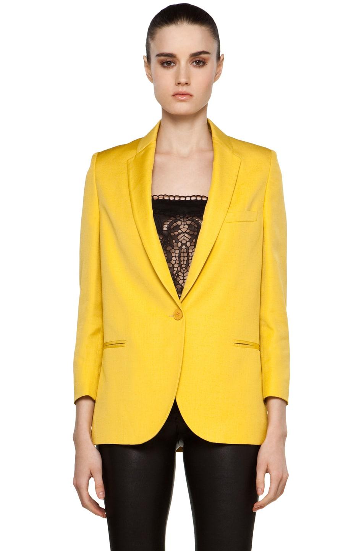 Image 1 of Stella McCartney Blazer in Yellow