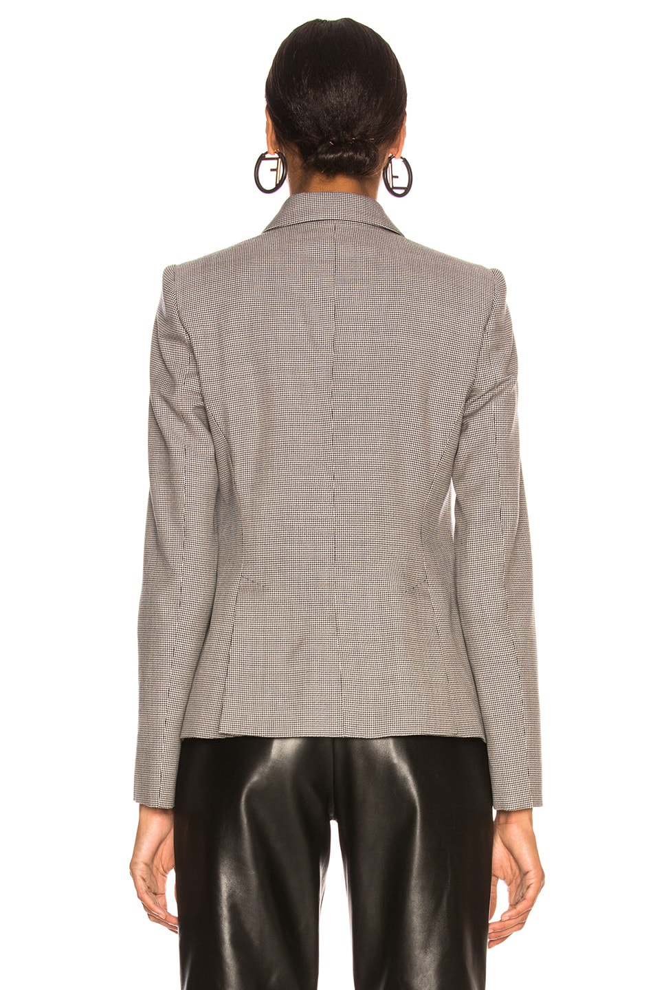 Image 4 of Stella McCartney Robin Double Breasted Blazer in Ink & Ivory
