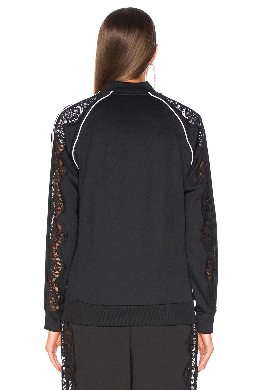 Image 4 of Stella McCartney x adidas Lace Insert Track Jacket in Black