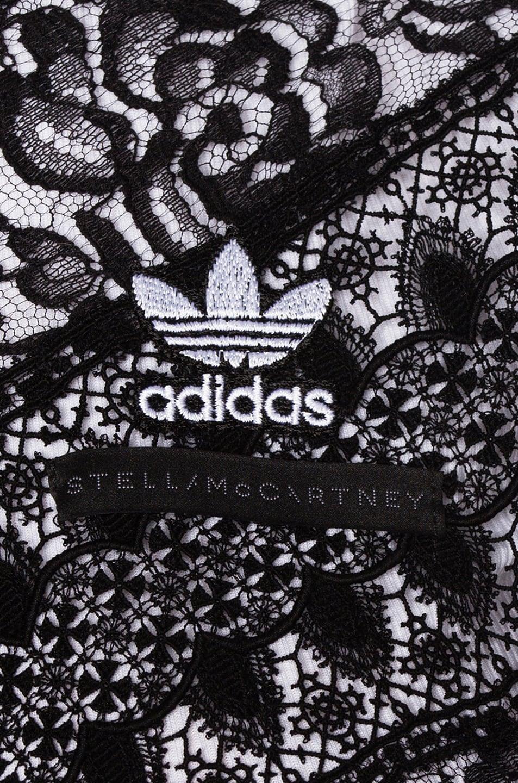 Image 6 of Stella McCartney x adidas Lace Insert Track Jacket in Black