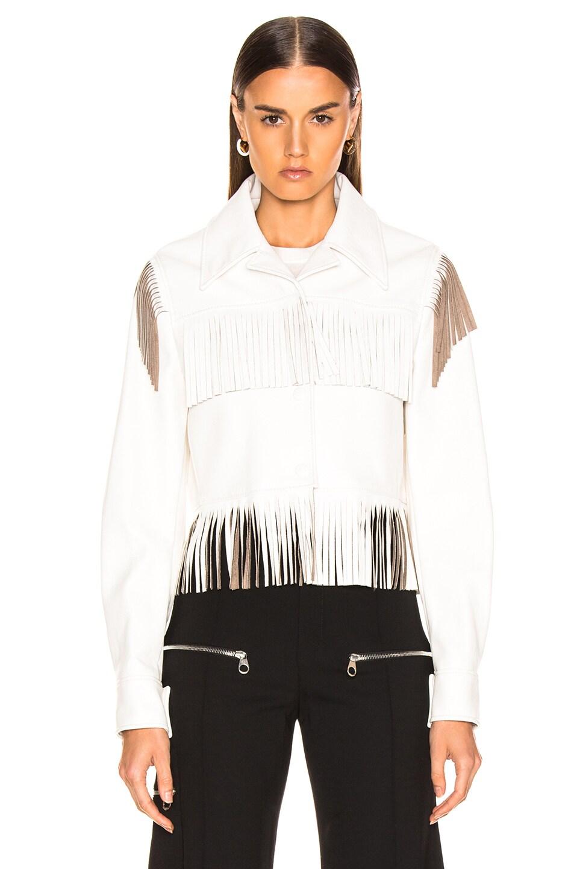 Image 2 of Stella McCartney Fringe Jacket in White