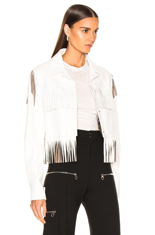 Image 3 of Stella McCartney Fringe Jacket in White