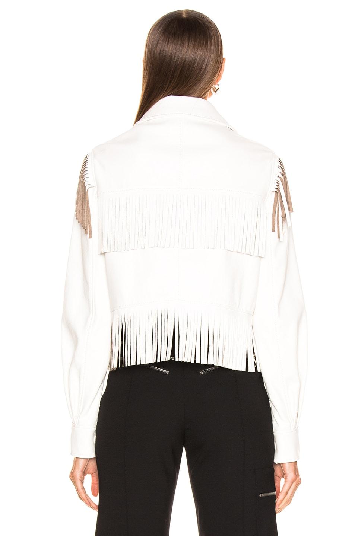 Image 4 of Stella McCartney Fringe Jacket in White