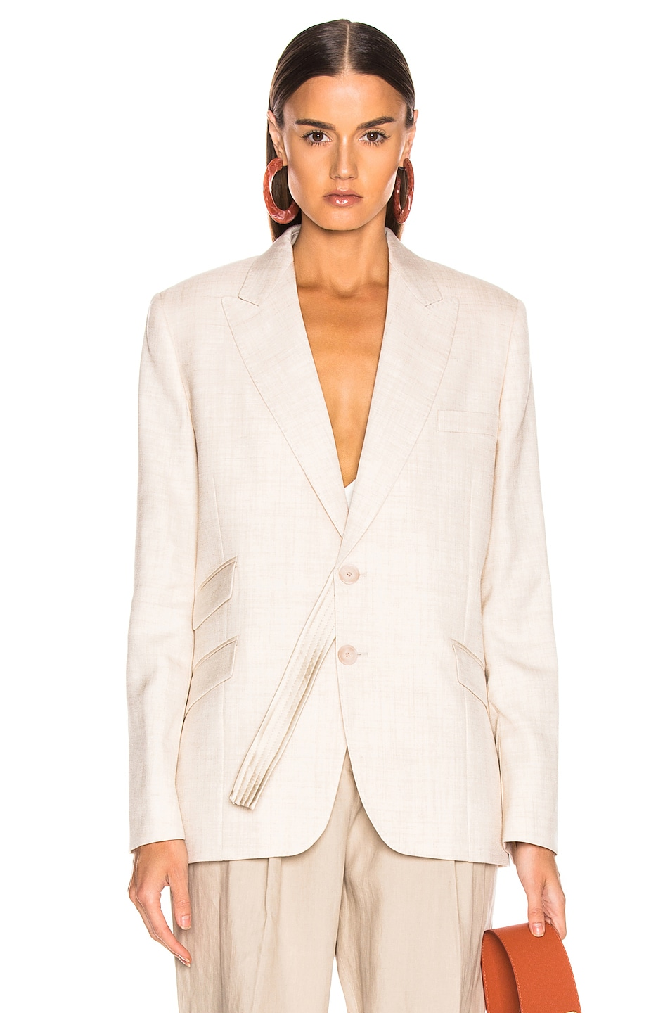 Image 1 of Stella McCartney Tailored Jacket in Linen