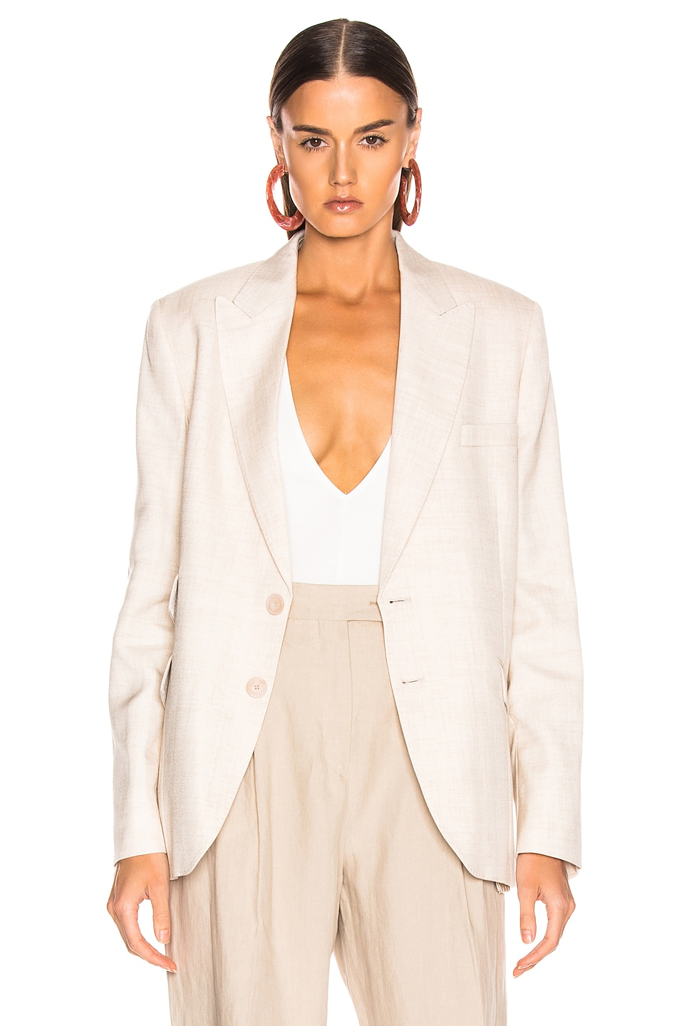 Image 2 of Stella McCartney Tailored Jacket in Linen