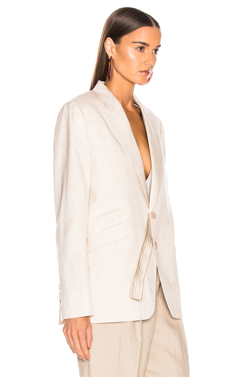 Image 3 of Stella McCartney Tailored Jacket in Linen