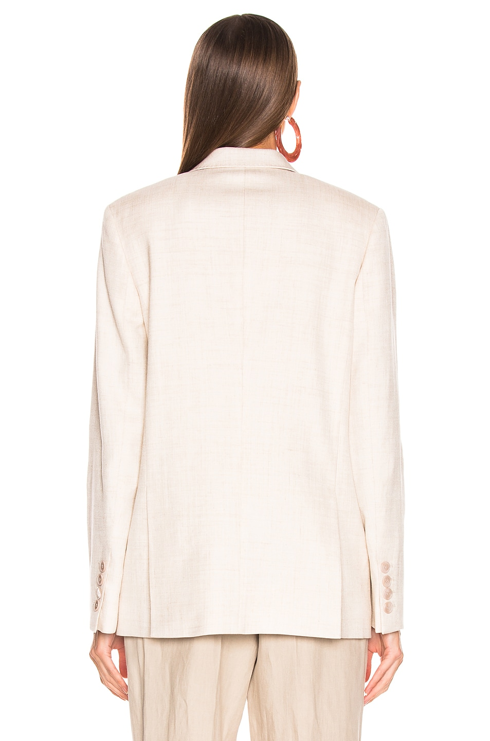 Image 4 of Stella McCartney Tailored Jacket in Linen