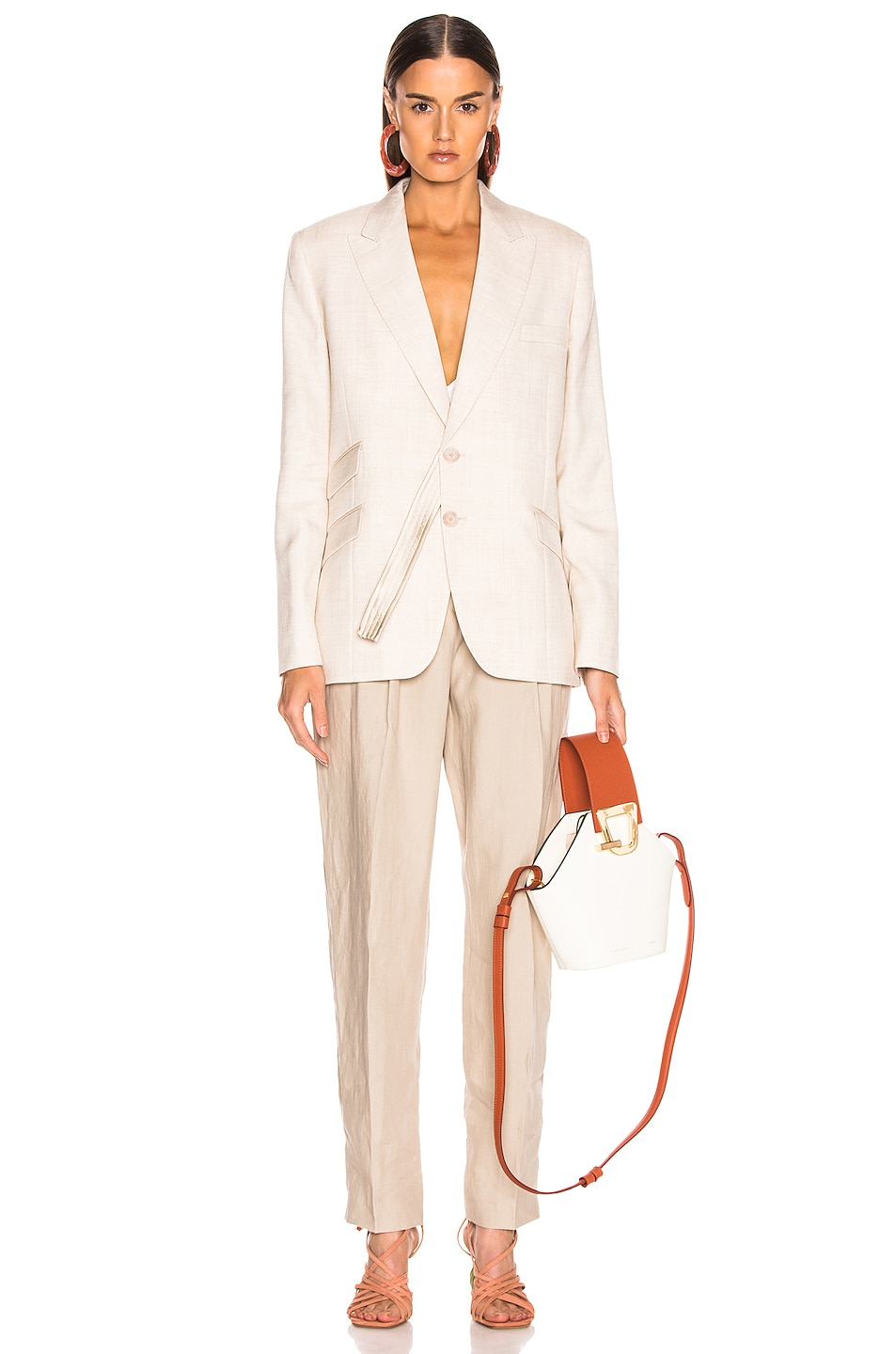 Image 5 of Stella McCartney Tailored Jacket in Linen