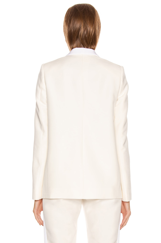 Image 4 of Stella McCartney Mikado Blazer in Winter White