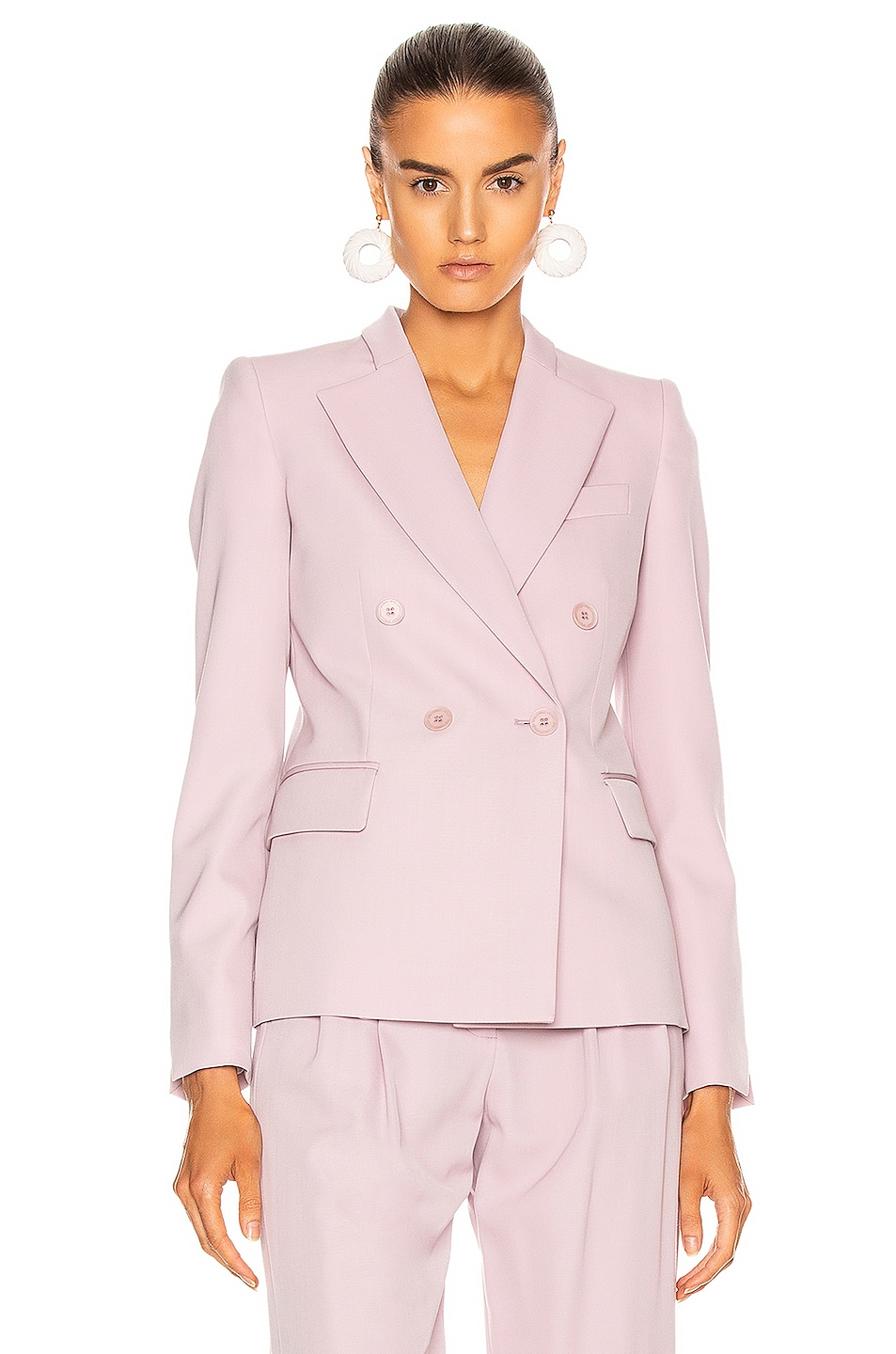 Image 1 of Stella McCartney Romy Tailored Blazer in Lilac
