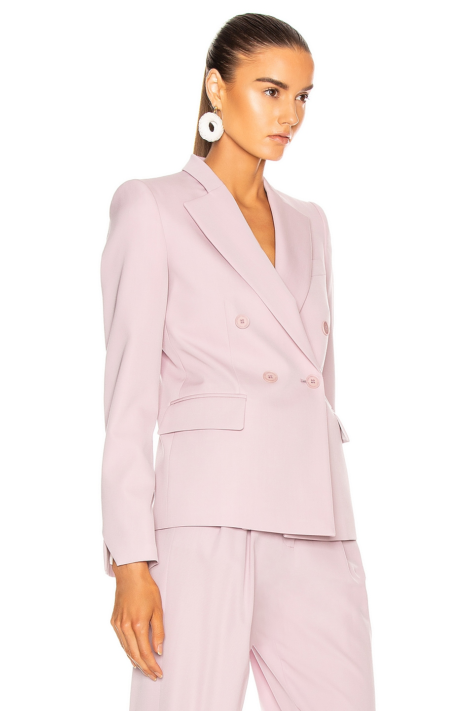 Image 2 of Stella McCartney Romy Tailored Blazer in Lilac