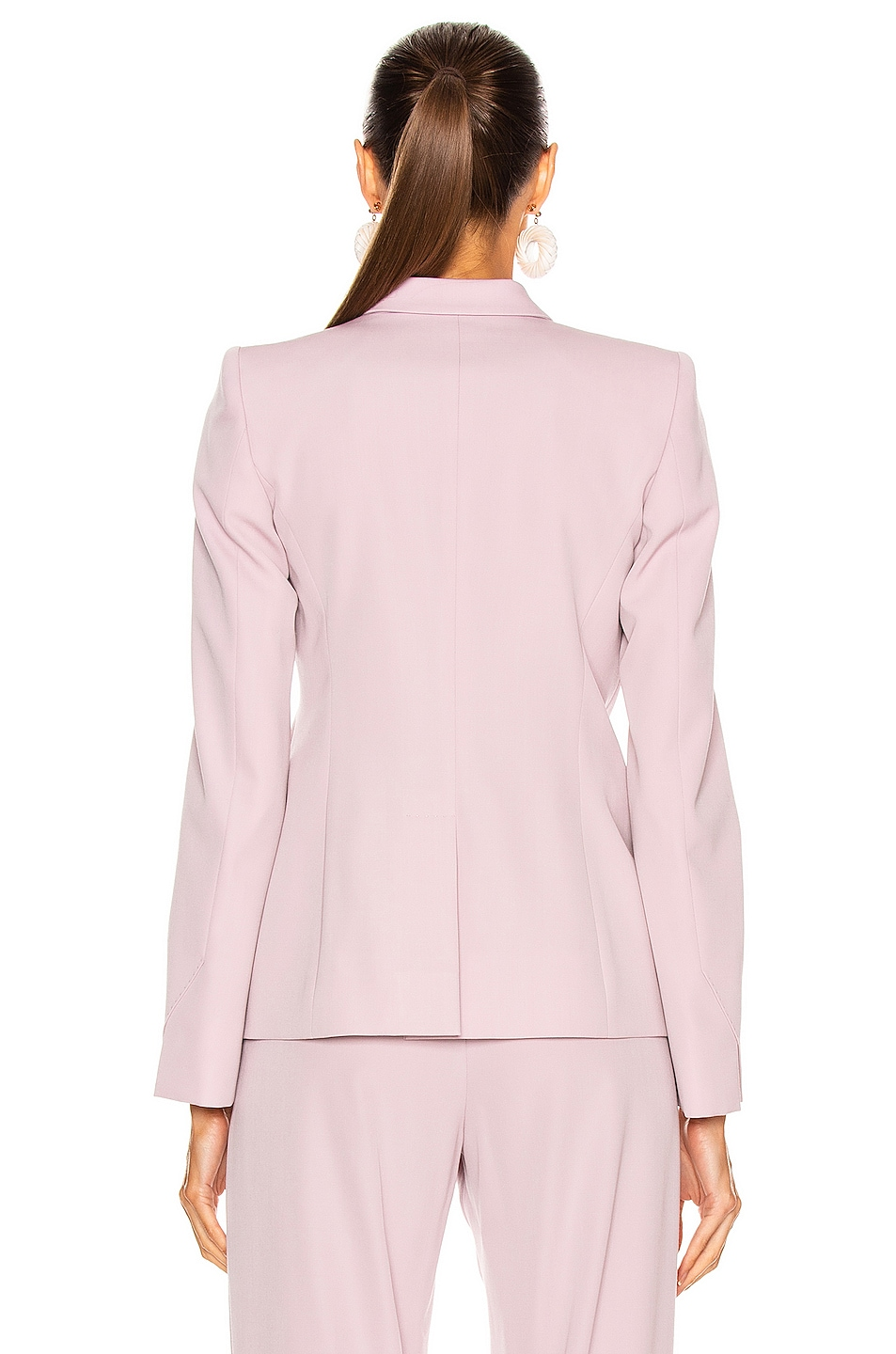 Image 3 of Stella McCartney Romy Tailored Blazer in Lilac