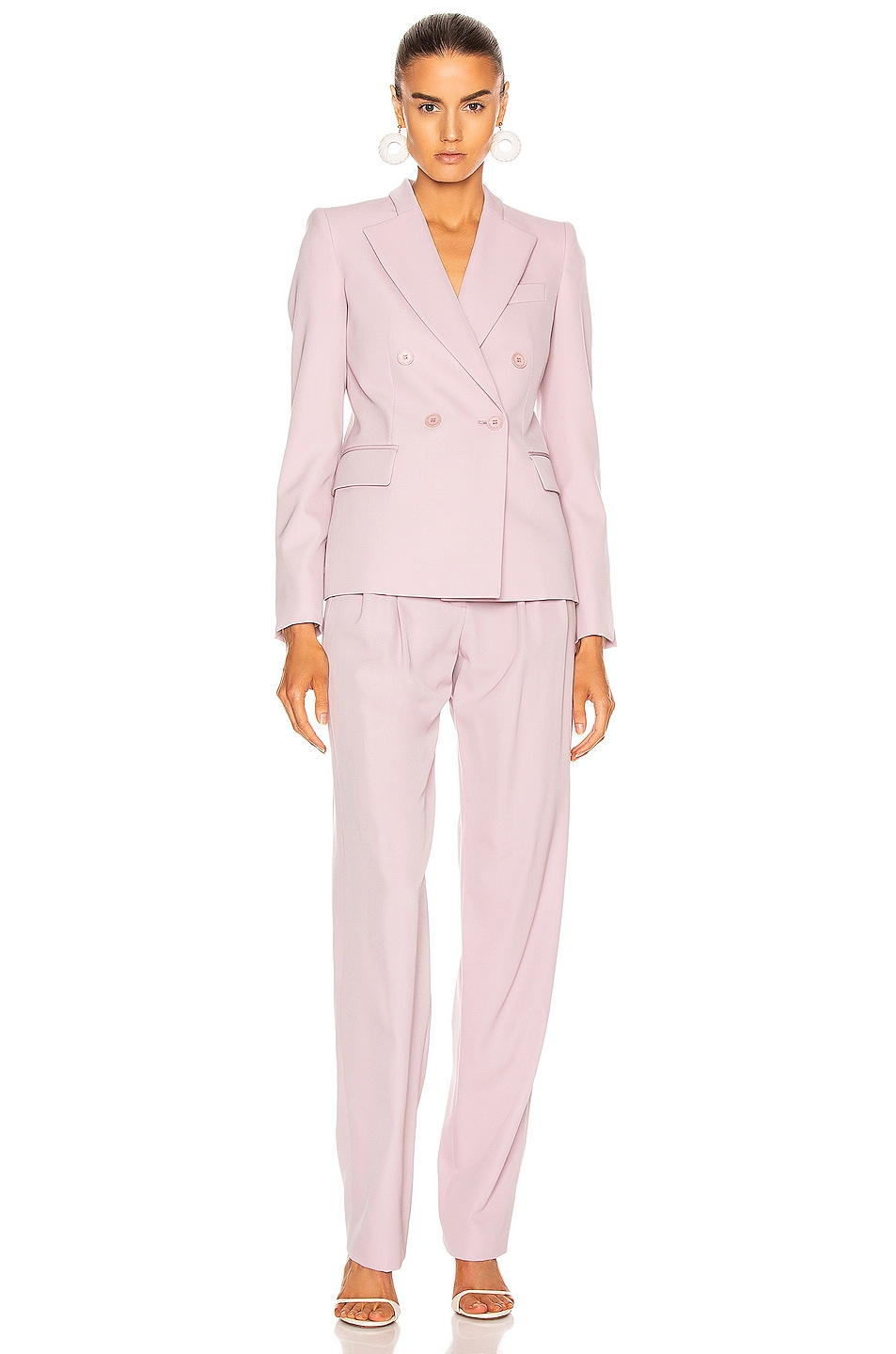 Image 4 of Stella McCartney Romy Tailored Blazer in Lilac