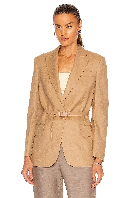 Image 1 of Stella McCartney Bella Jacket in Light Camel