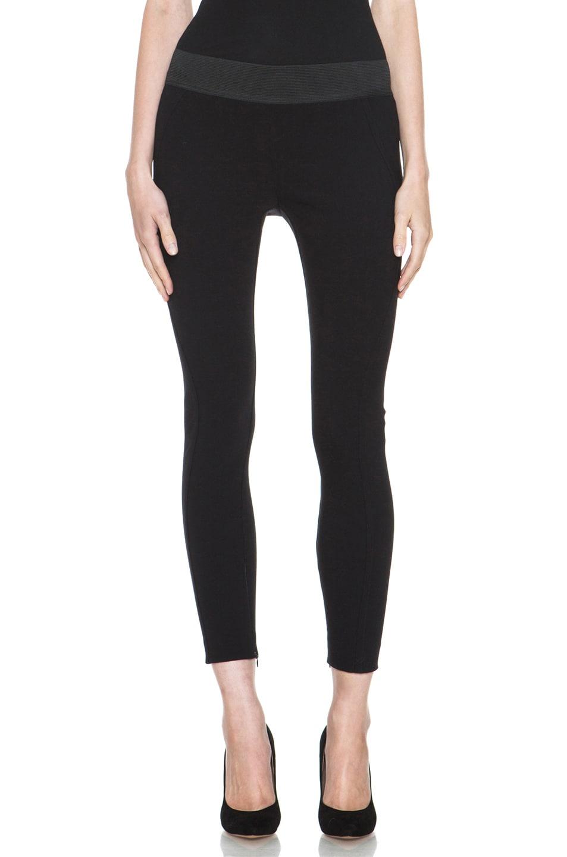 Image 1 of Stella McCartney Pull on Legging in Black