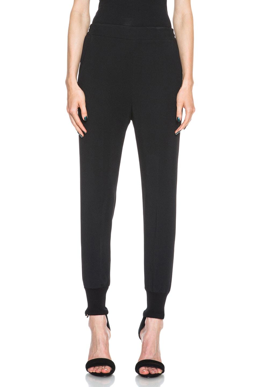 Image 1 of Stella McCartneyViscose-Blend Elastic Trouser in Black