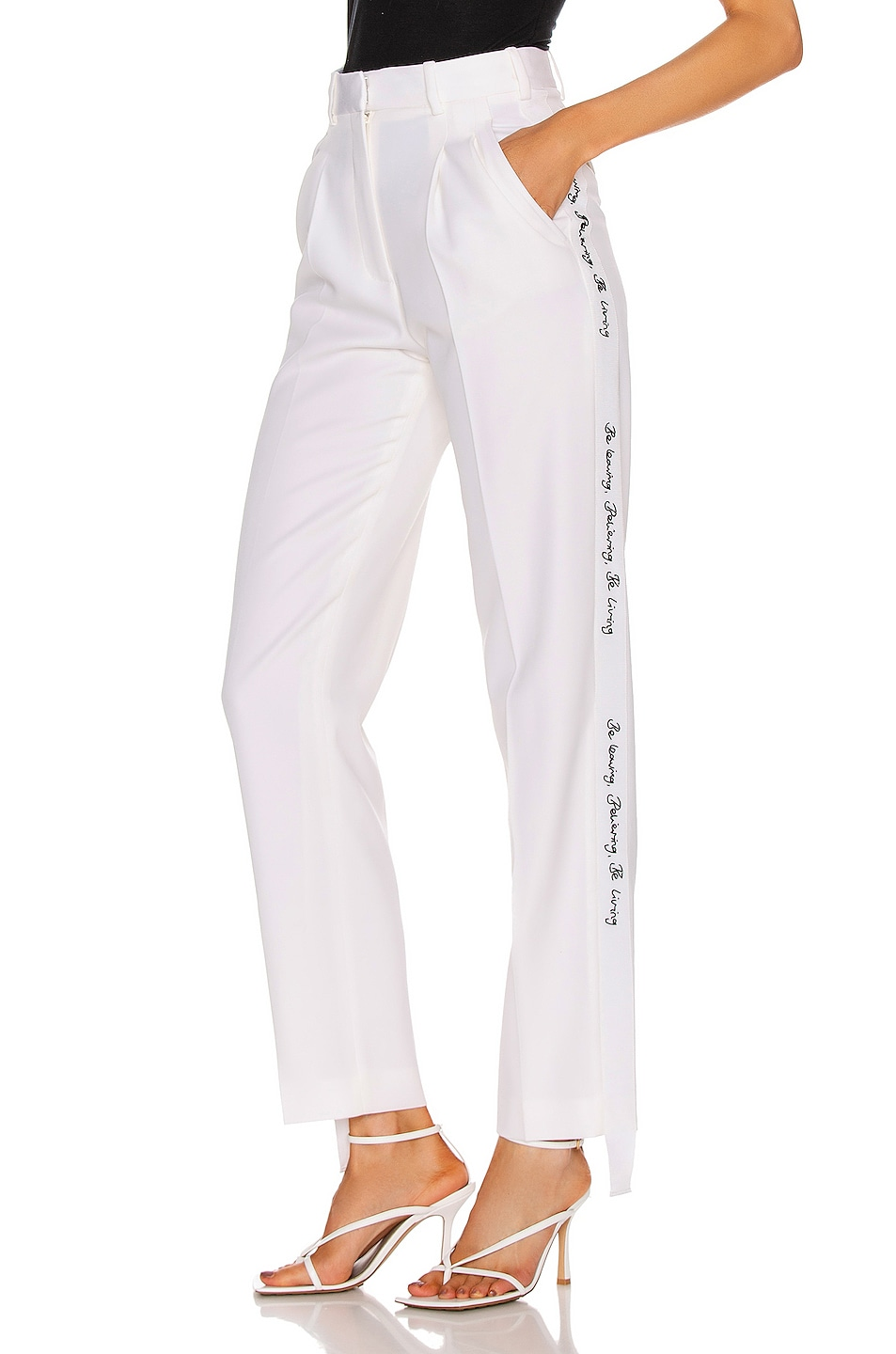 Image 1 of Stella McCartney Tailored Pant in Ivory