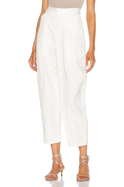 Image 1 of Stella McCartney Adriana Tailored Pant in Cream