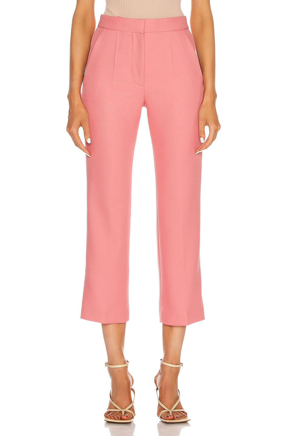 Image 1 of Stella McCartney Carlie Tailored Pant in Pink Frappe