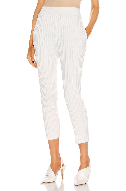 Image 1 of Stella McCartney Soft Shape Pant in Ivory