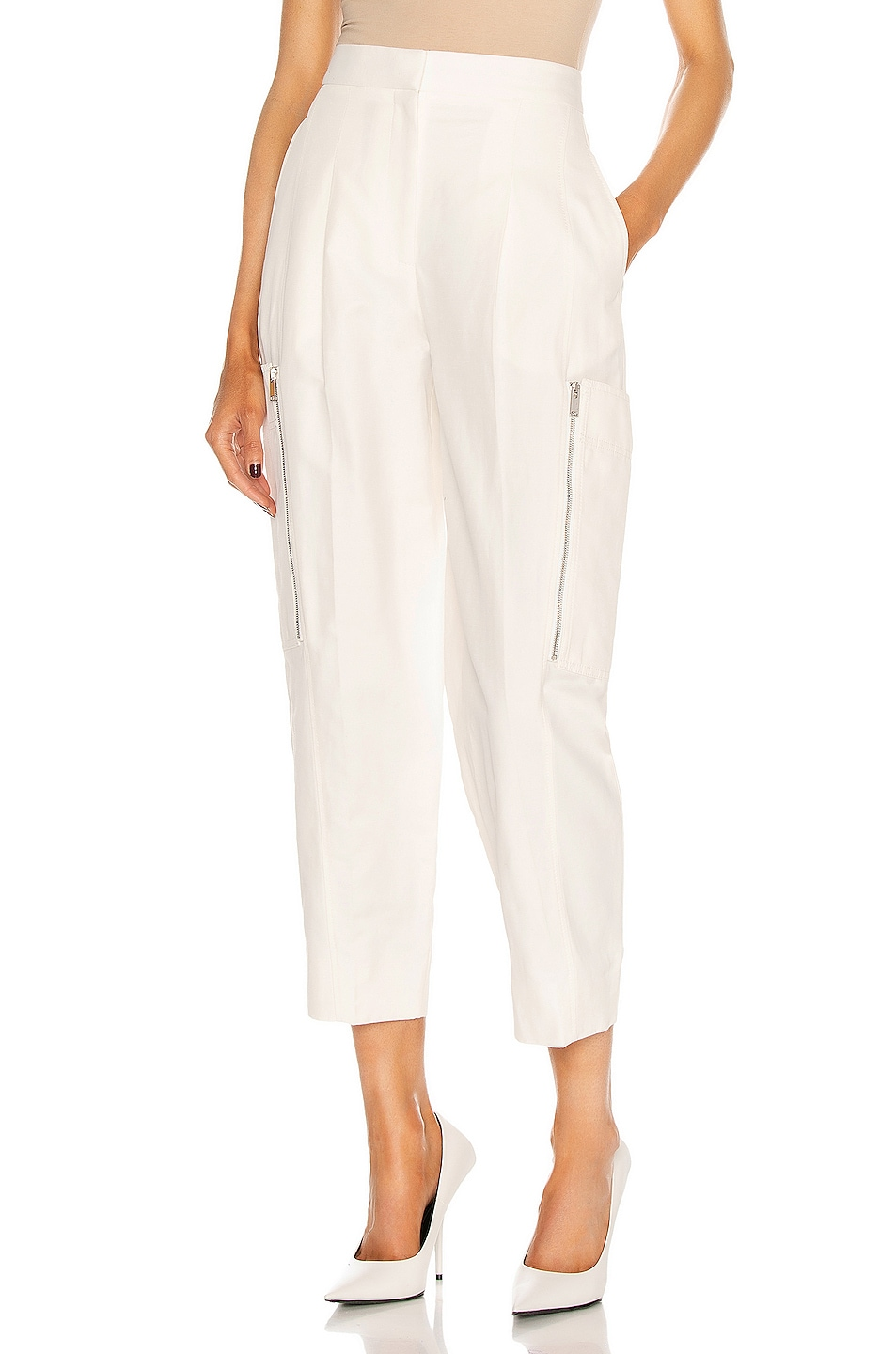 Image 1 of Stella McCartney Karla Pant in Cream