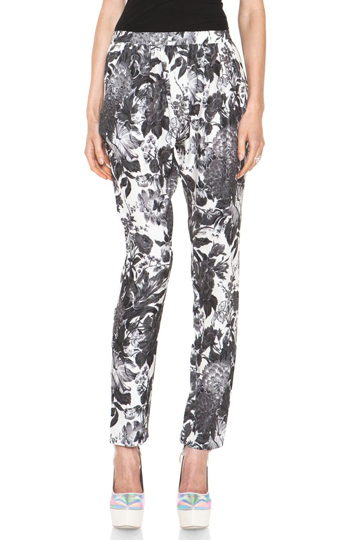 Image 1 of Stella McCartneyToile De Jouy Print Pant in Black Multi