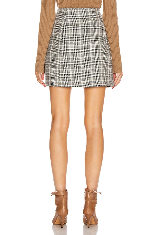 Image 3 of Stella McCartney Alexandra Button Mini Skirt in Black