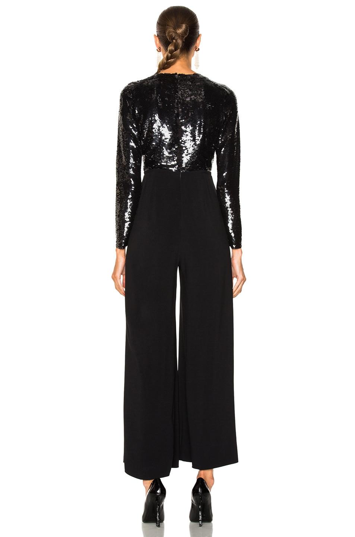 Image 3 of Stella McCartney Rosie Sequin Top Jumpsuit in Black