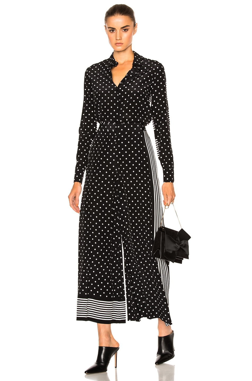 Image 5 of Stella McCartney Silk Polka Dot Blouse in Black