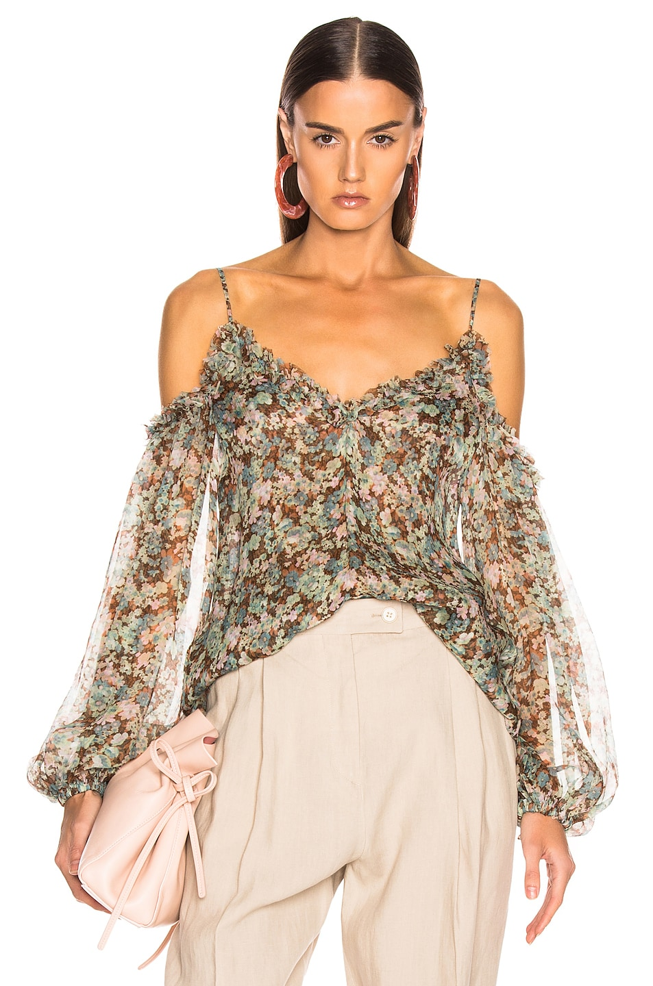 Image 1 of Stella McCartney Floral Meadow Top in Multicolor