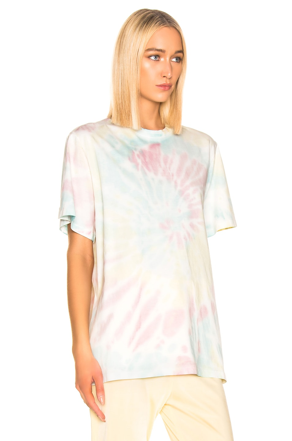 Image 2 of Stella McCartney Tie Dye Tee Shirt in Pink & Blue