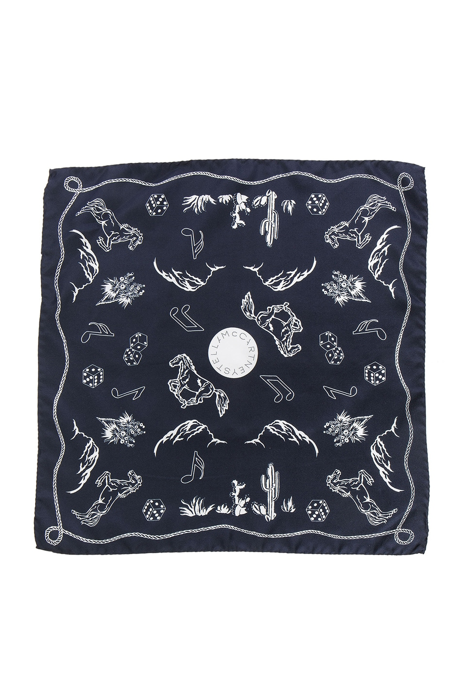 Image 1 of Stella McCartney Scarf in Ink