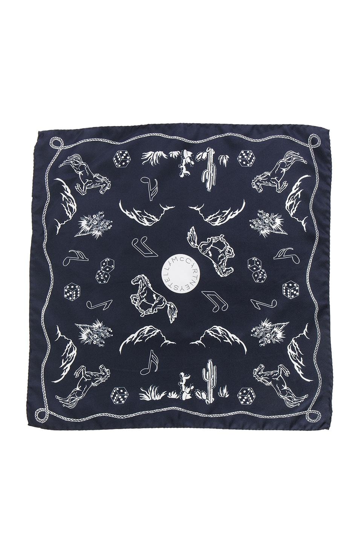 Image 1 of Stella McCartneyScarf in Ink