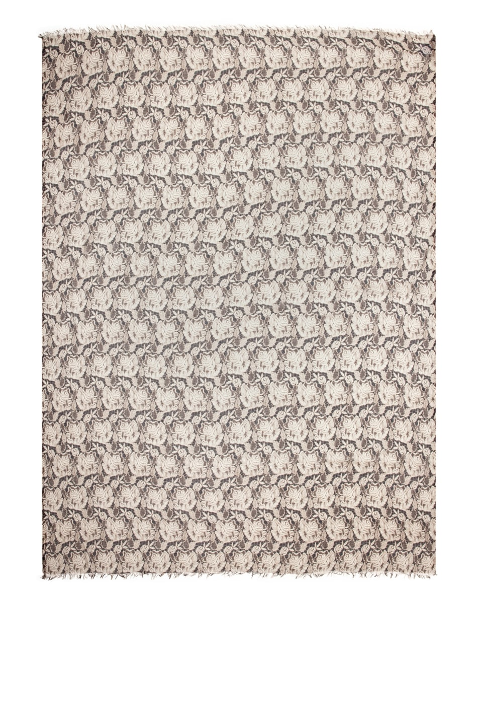 Image 1 of Stella McCartney Lace Print Scarf in Ivory